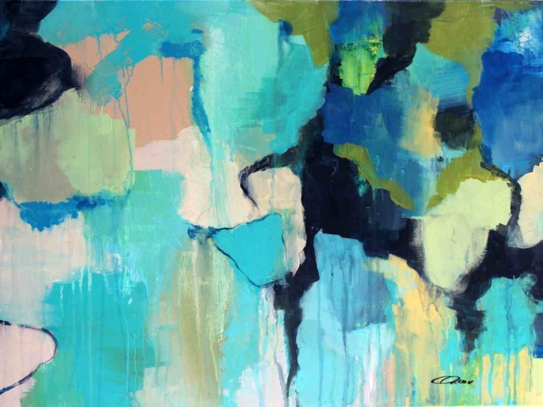 "16 x 20"" Reaching Deeper by Irena Orlov"