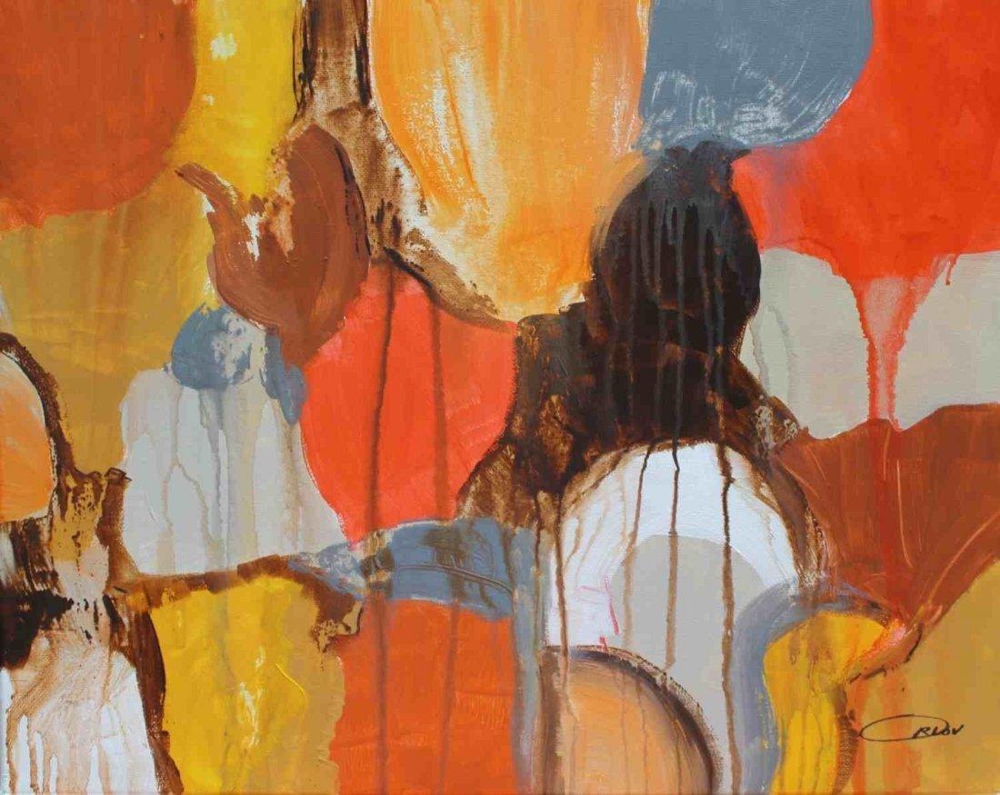 """16 x 20"""" Season Of Color , acrylic by Irena Orlov"""