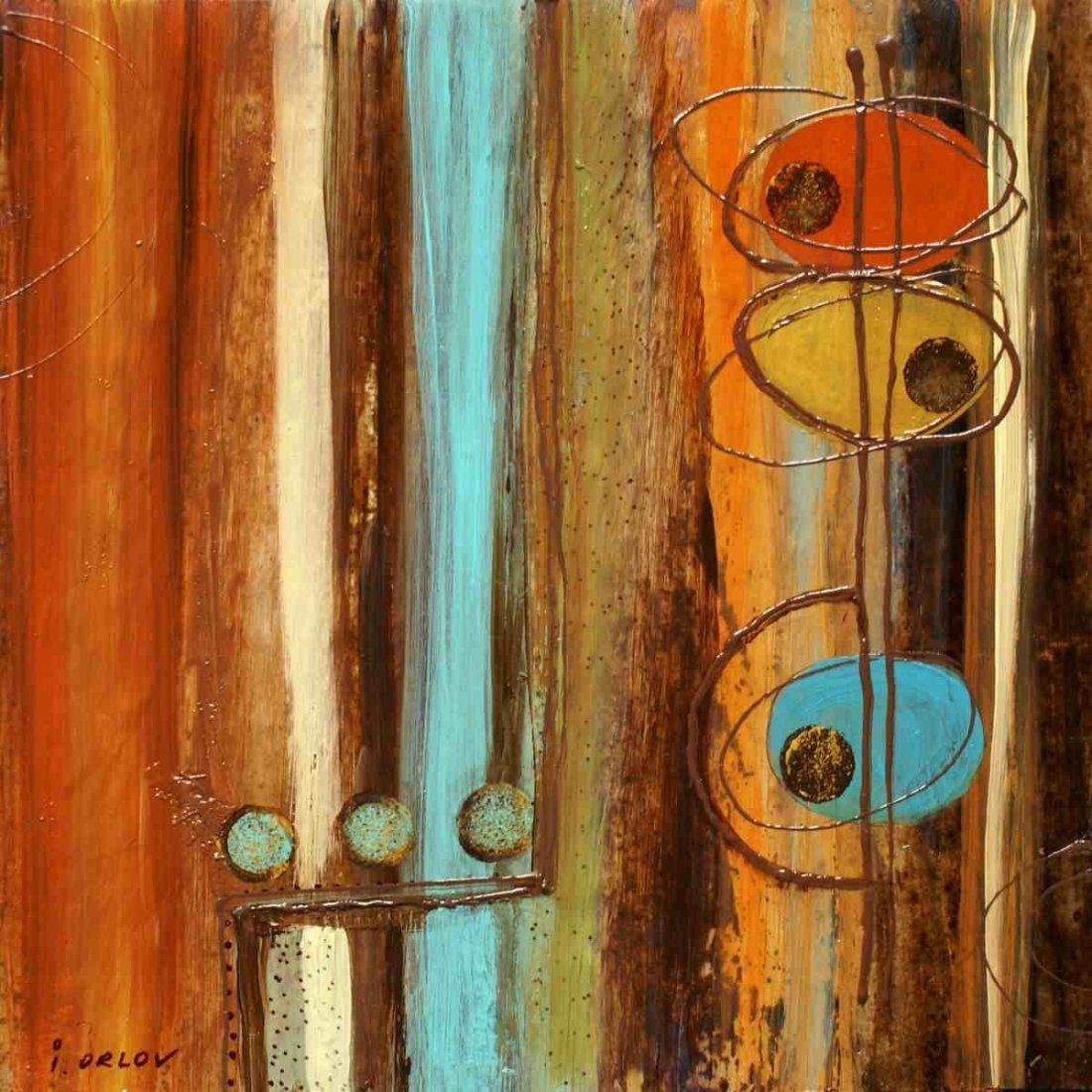 """12"""" X 12"""" IN THE MIX II BY IRENA ORLOV"""