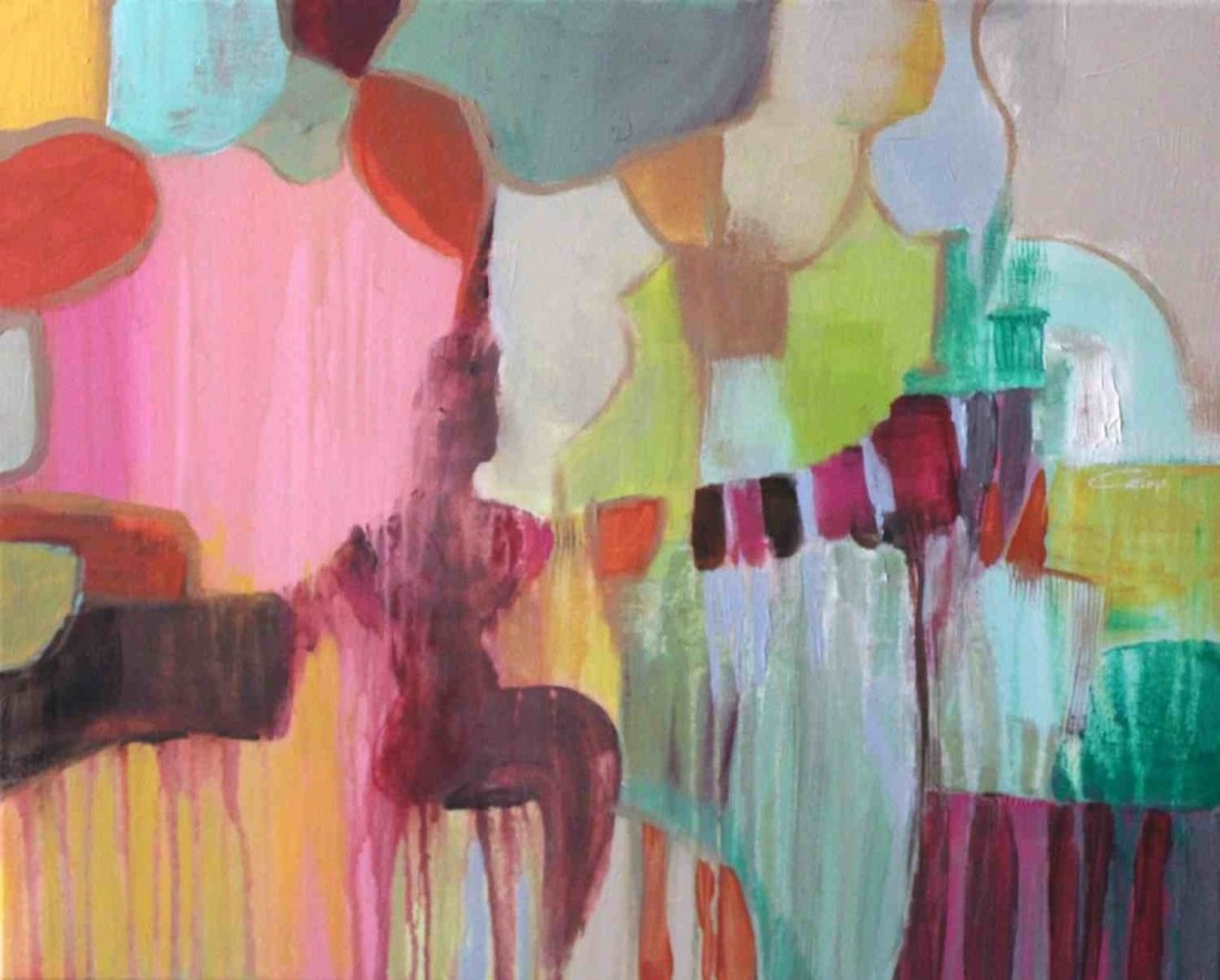 Woman Awakening by Irena Orlov, Acrylic on canvas