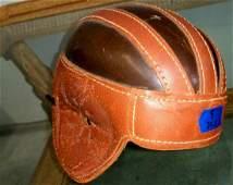 Inter Collegiate 15H Genuine Leather Helmet by Peerless