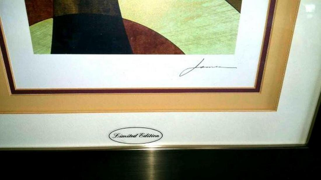 Elliptical Path signed by James, Limited Edition, Pair - 2