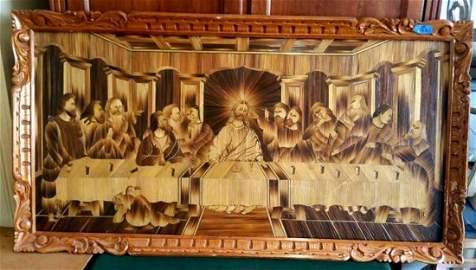 3-D Tramp Art, Hobo Art or Prison Art   -The Last