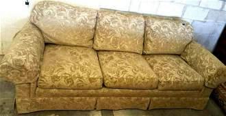 STANFORD FURNITURE 3-Cushion Roll-Arm Sofa