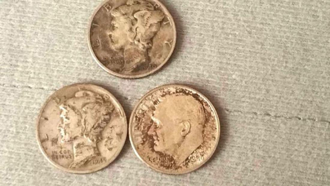 9 piece Silver US Coin Lot - 2