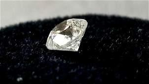 light 3/4 Carat Loose Diamond