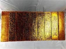 BURMESE PALM LEAF MANUSCRIPT, A PALI BUDDHIST TEXT,