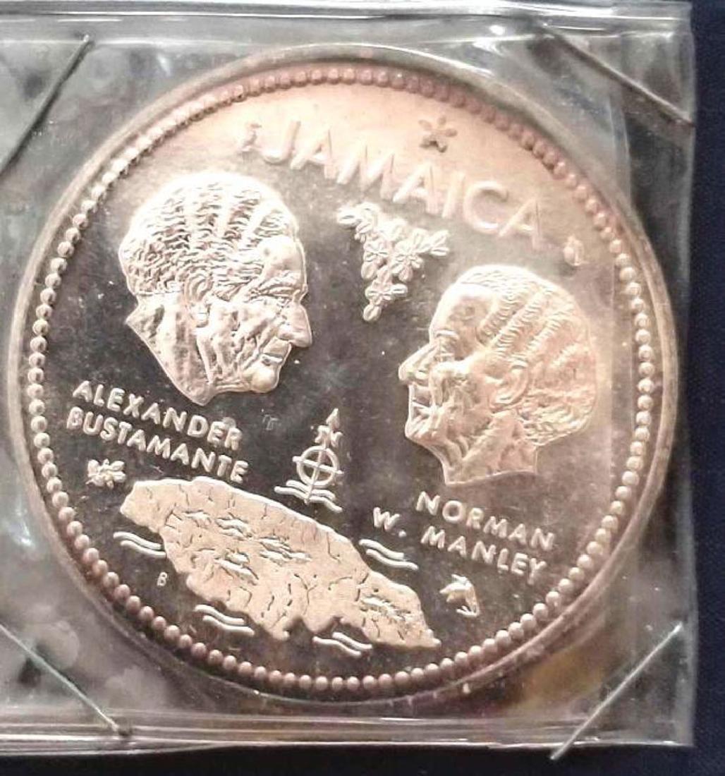 .925 SILVER JAMAICA Commemorative Coin, 10th