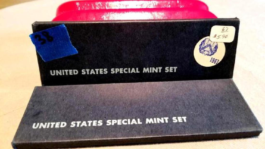 1966 and 1967 UNITED STATES SPECIAL MINT SETS