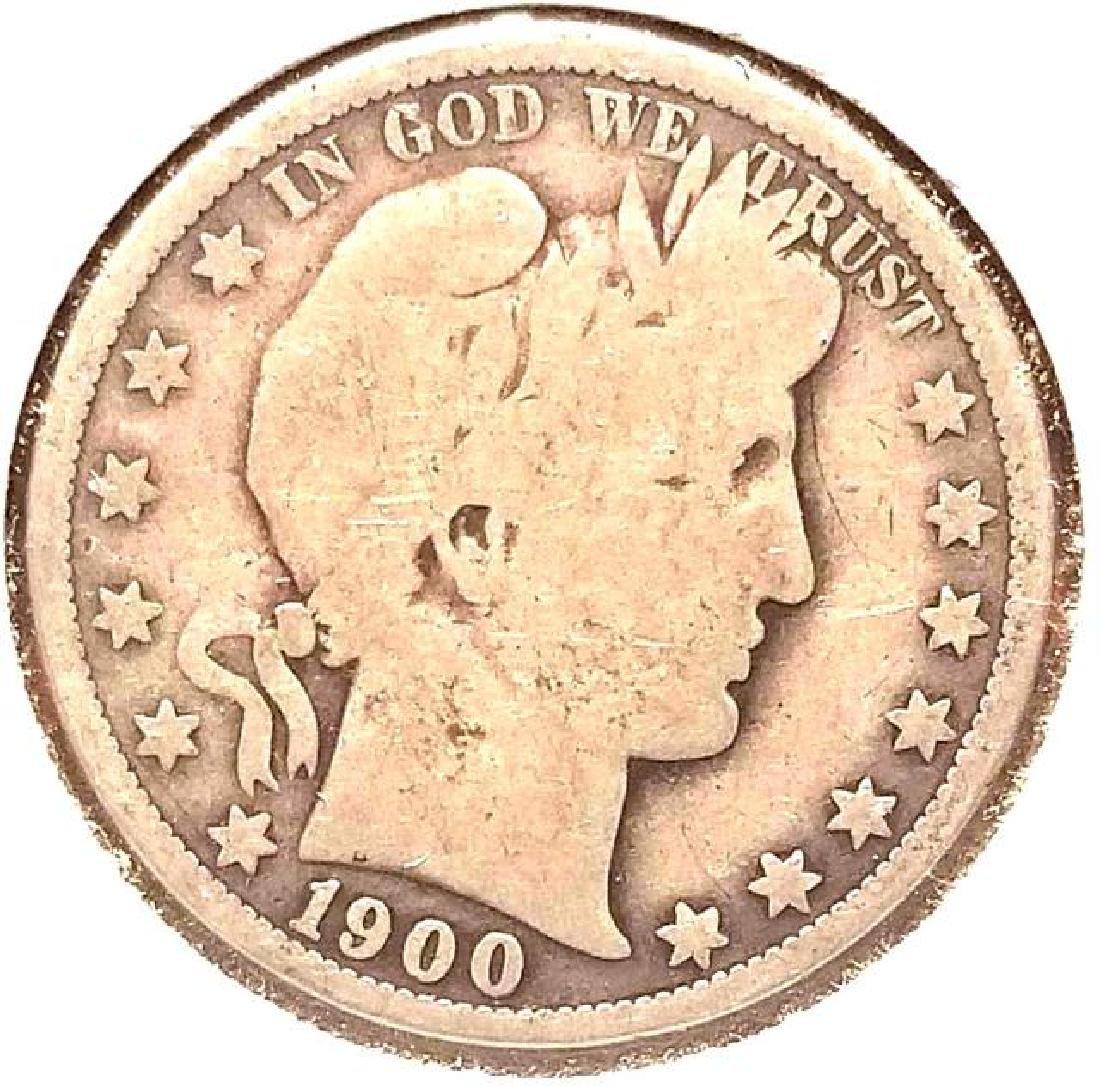 1900 O BARBER HALF DOLLAR - 2