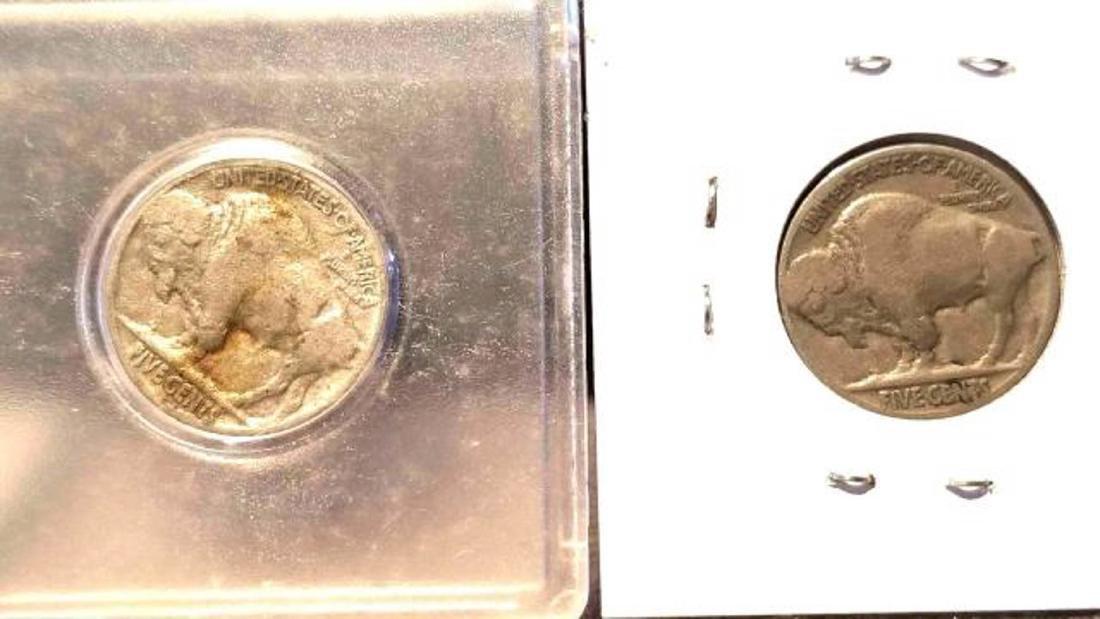 12 BUFFALO NICKELS 1937-1938  copper nickel - 3