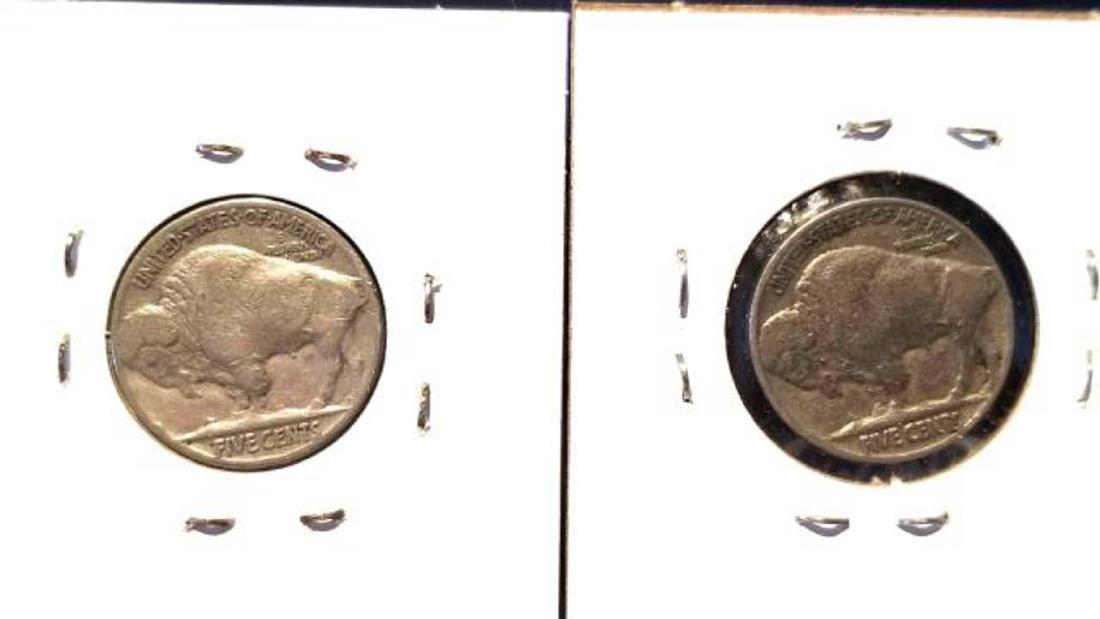 12 BUFFALO NICKELS 1937-1938  copper nickel - 5