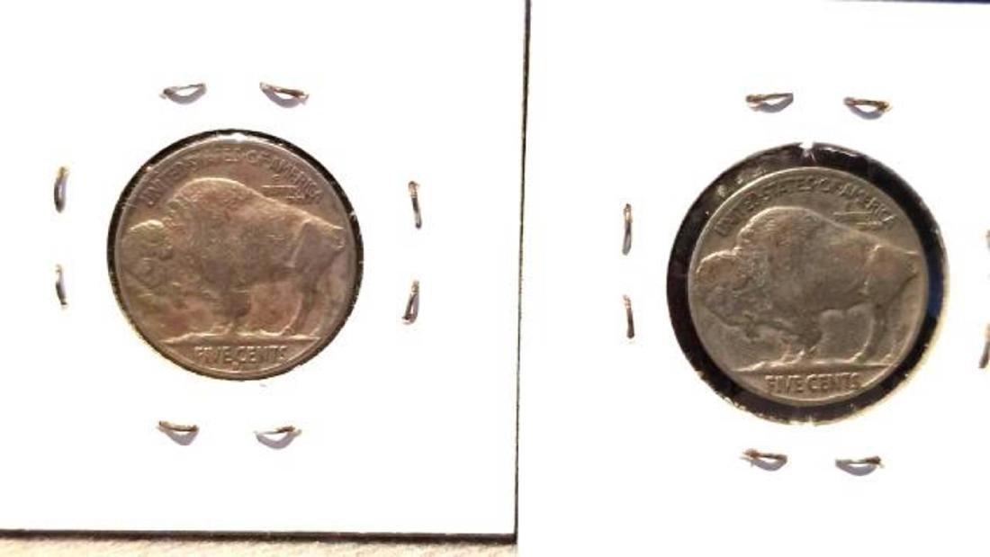 12 BUFFALO NICKELS 1937-1938  copper nickel - 7