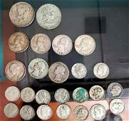 25 pc US Silver Coin Lot