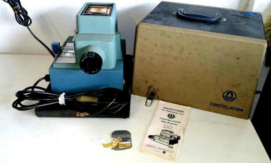 1956 Constellation Slide Project by Graflex of