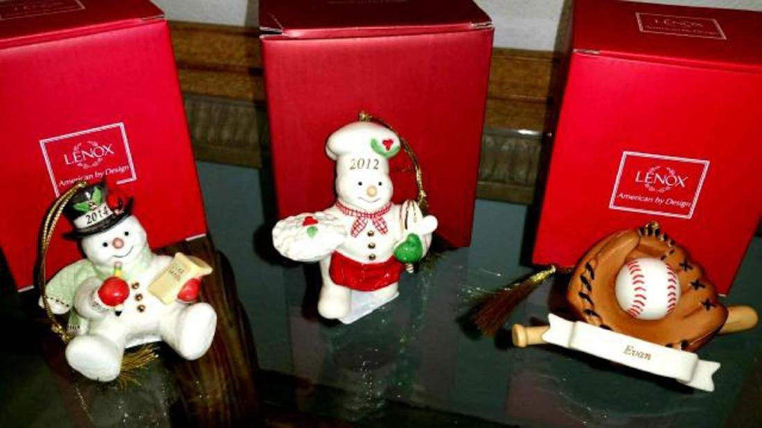 Five Assorted LENOX Porcelain Figures in Original Boxes - 2