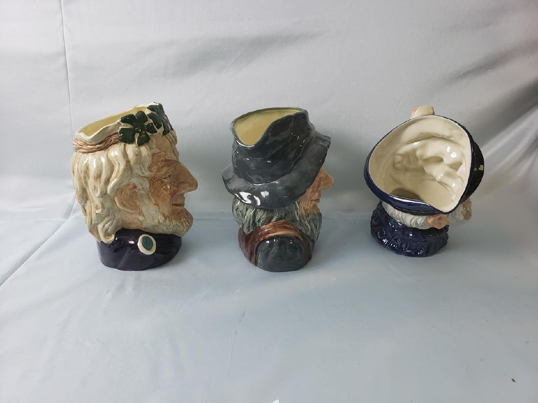 ROYAL DOULTON TOBY JUG lot of 3 - 2