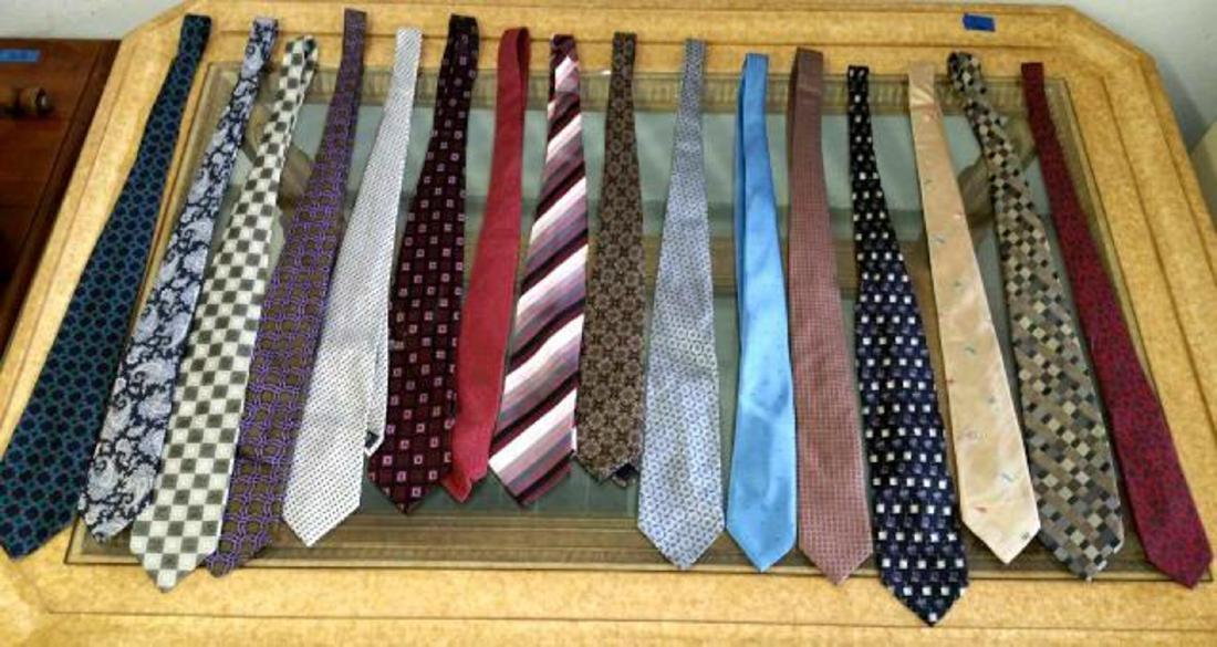 16 Designer Men's Ties