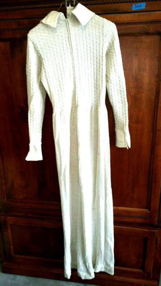 1960's Vintage Maxi Dress by Howard Lawrence for - 4