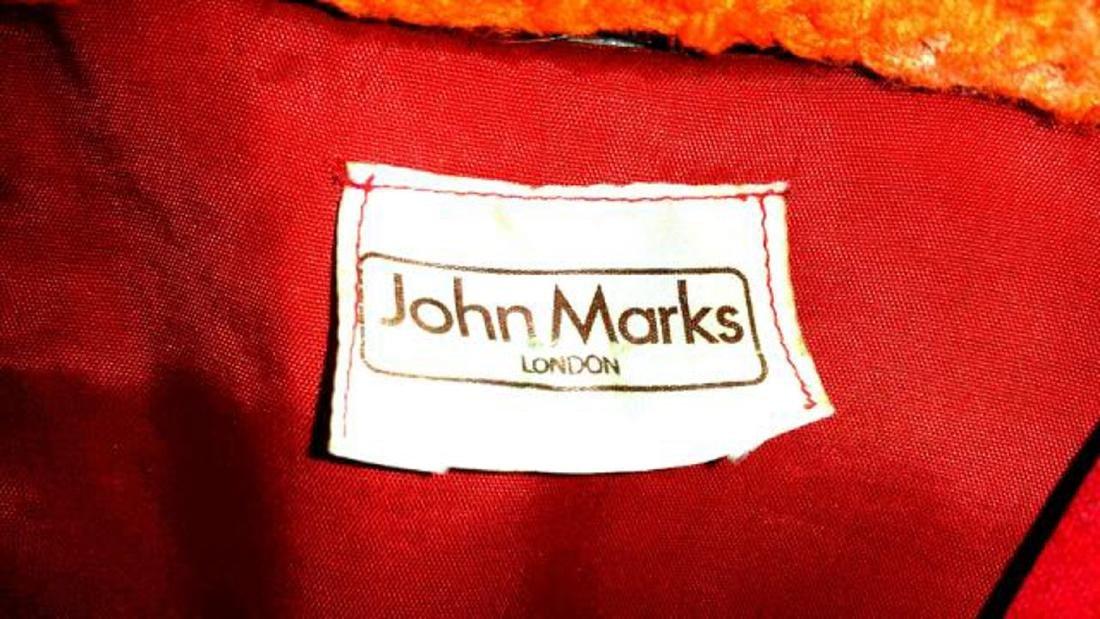 Vintage John Marks London Red Black Evening Wear with - 2