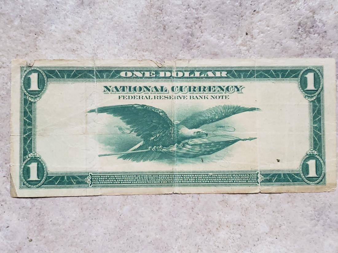 $1 Philadephia 1914 Federal Reserve Note - 2