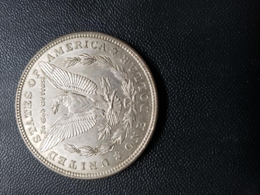 1921 D Morgan Silver Dollar - 2
