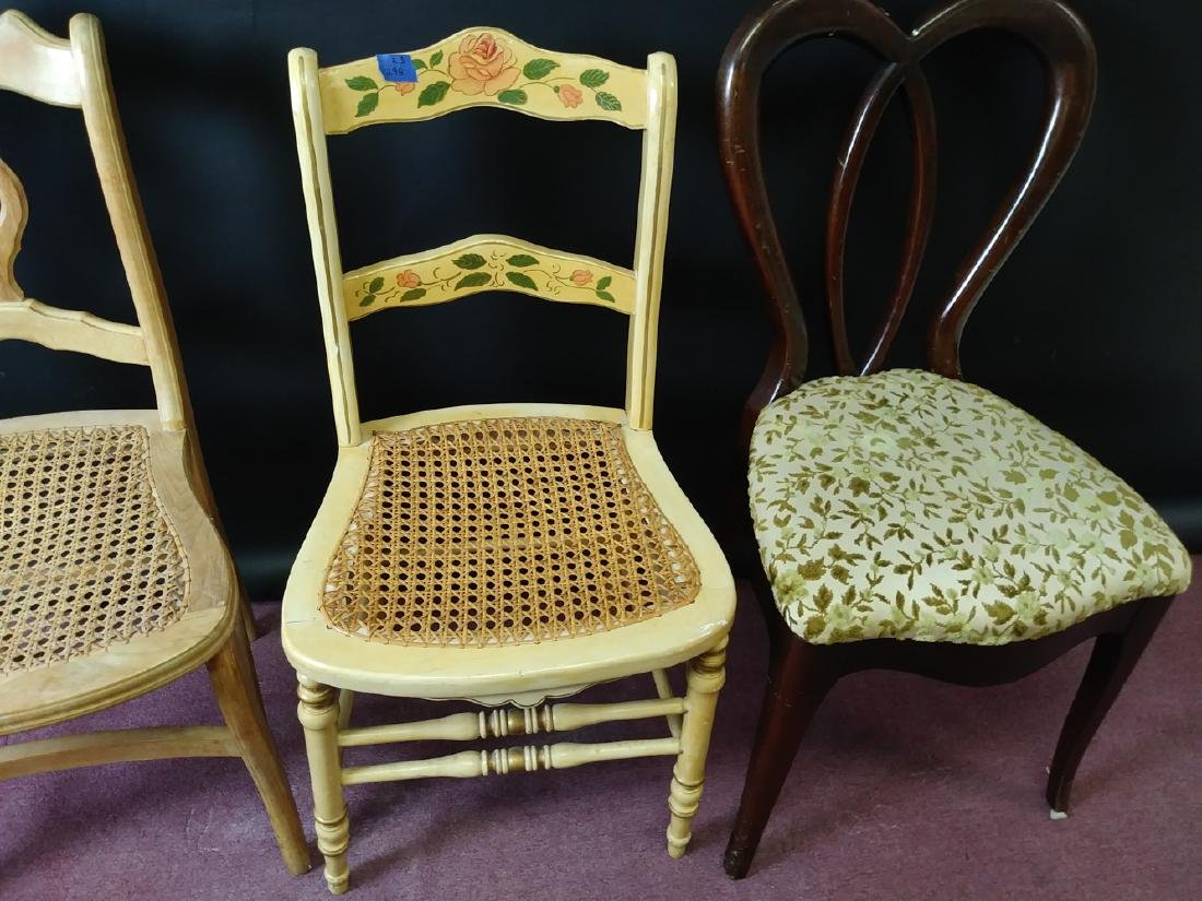 VINTAGE ASSORTED CHAIRS - 3