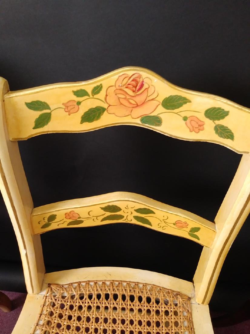 VINTAGE ASSORTED CHAIRS - 6