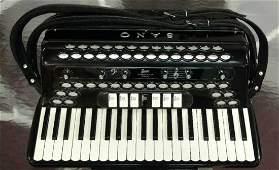 Rare SANO Model Stereo Twenty Accordion