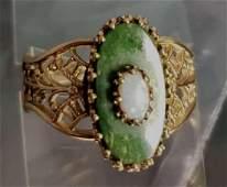 10K Plumb Opal Ring