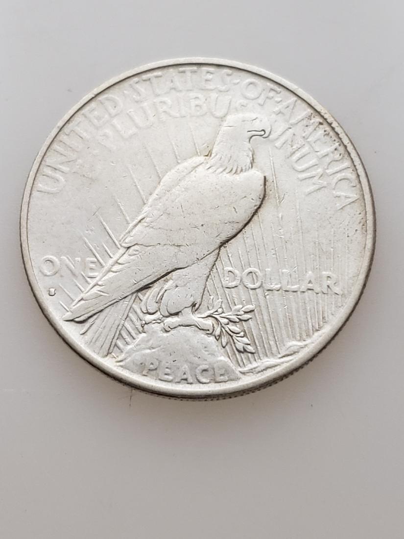 1935 S PEACE DOLLAR, .900 SILVER - 2