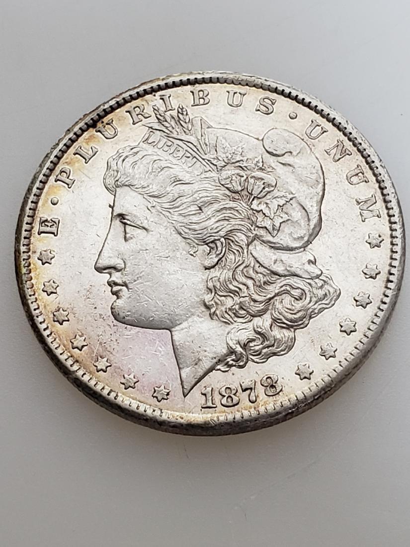 RARE 1878-CC MORGAN SILVER DOLLAR