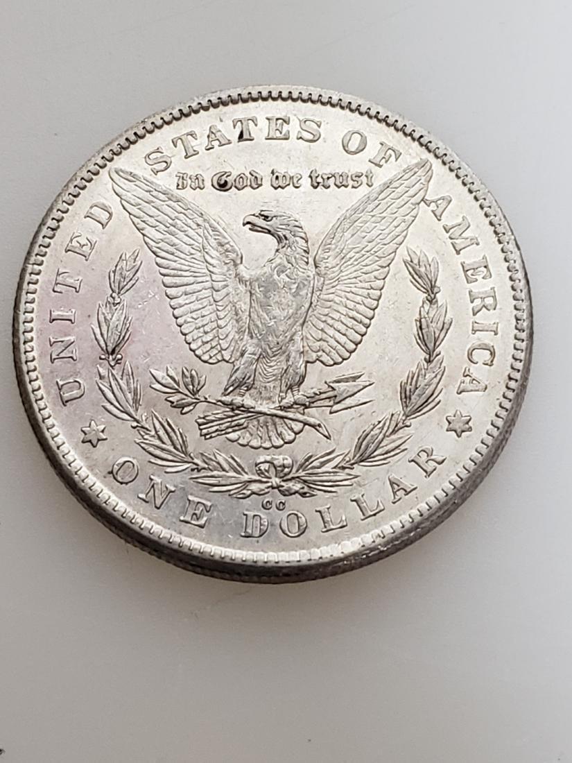 RARE 1878-CC MORGAN SILVER DOLLAR - 2