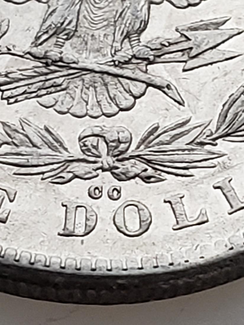 RARE 1878-CC MORGAN SILVER DOLLAR - 3