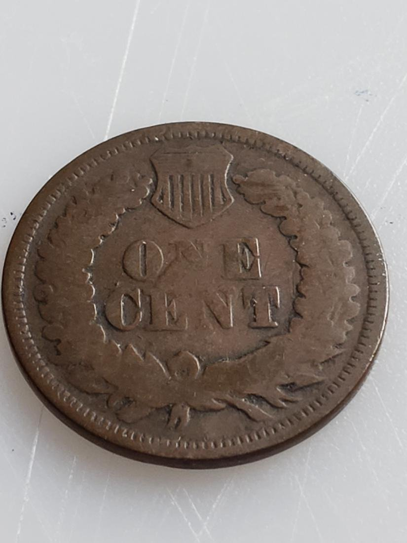 1868 INDIAN HEAD CENT - 2
