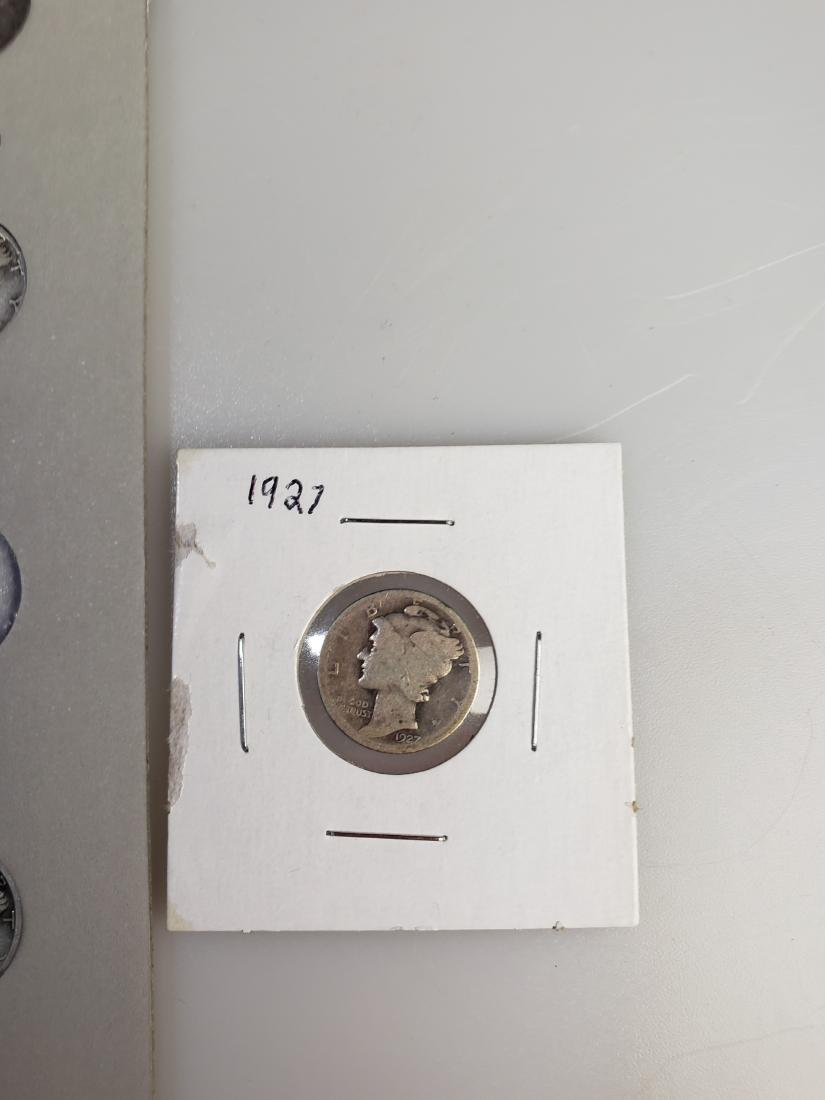 17 Mercury Silver Dimes - 2