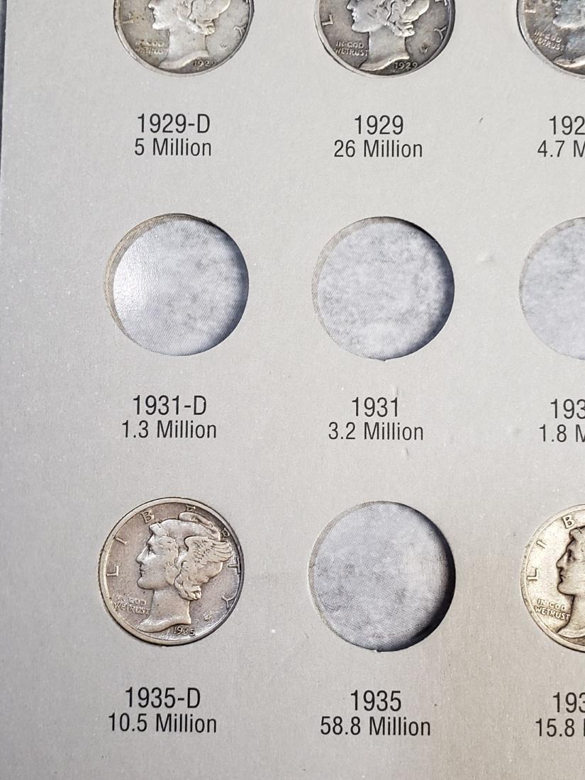 17 Mercury Silver Dimes - 5
