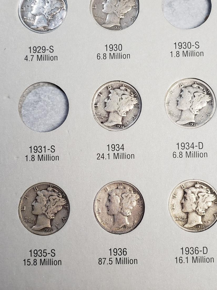 17 Mercury Silver Dimes - 6
