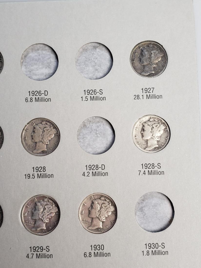 17 Mercury Silver Dimes - 7