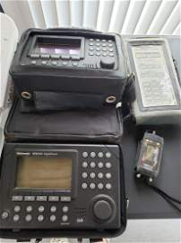 CABLE TV SIGNAL MEASURING EQUIPMENT/MAINTENANCE WORKERs