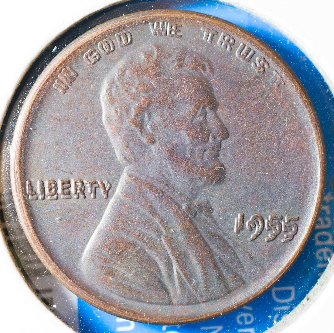 1955 Double Die Wheat Penny