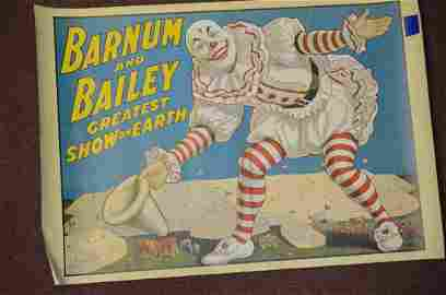 (18)  100th Anniversary Circus Posters
