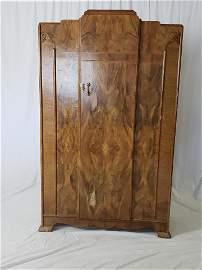 Vintage Art Deco Style Armoire