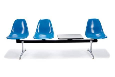 Charles & Ray Eames: Tandem Shell seating