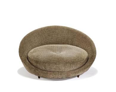 American Modern: Circular settee