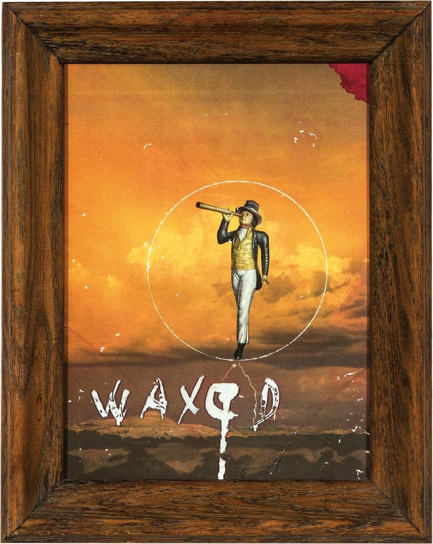 Joseph Cornell: Untitled (Waxed Collage)