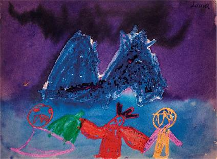Mike Kelley: #3 (from We Communicate Only Through Our