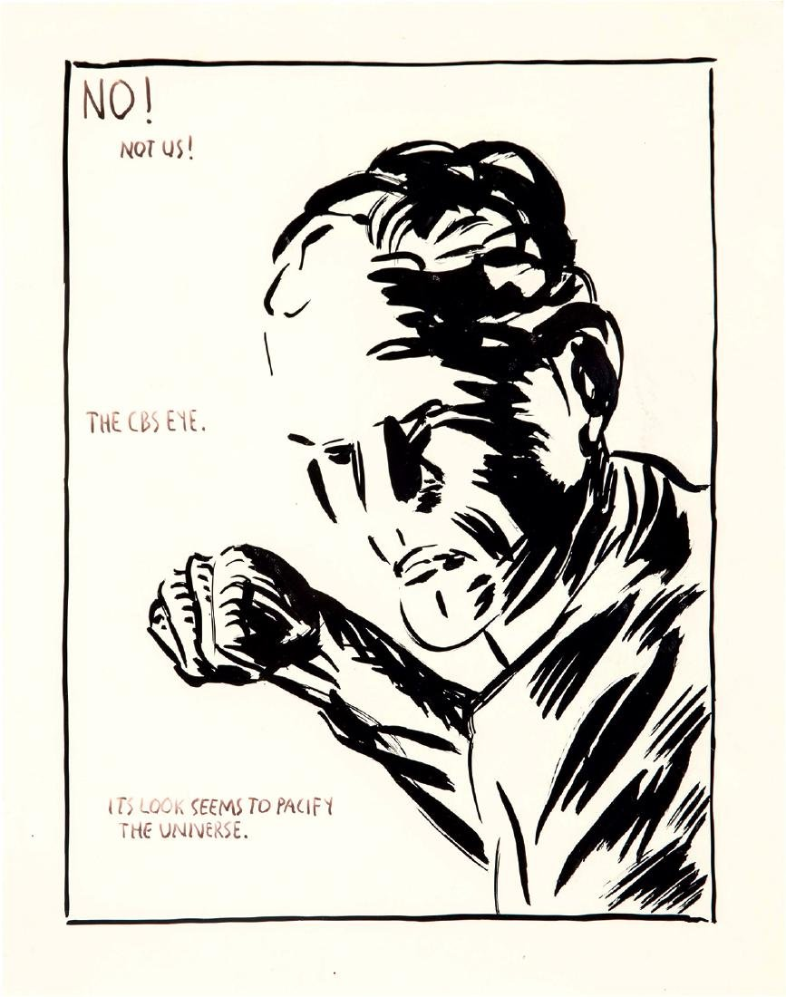 Raymond Pettibon: Untitled (No! Not Us!)