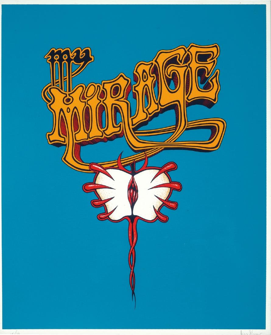 Jim Shaw: My Mirage Logo #3