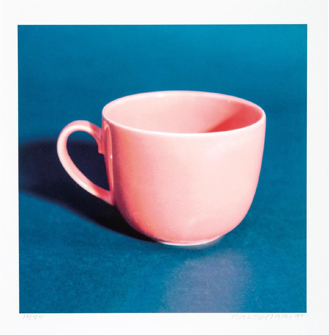 John Baldessari: Millennium Piece (with Pink Cup)